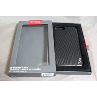トゥミ(TUMI)のTUMI トゥミ カバー iPhone7 Plus/ iPhone8 Plus黒(iPhoneケース)