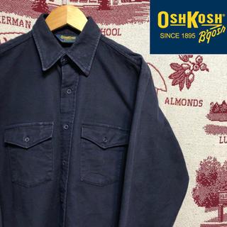 オシュコシュ(OshKosh)の60's〜70's USA製 ヴィンテージ オシュコシュ シャモアクロスシャツ(シャツ)