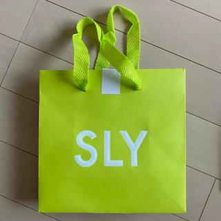 スライ(SLY)のSLY ミニショッパー(ショップ袋)
