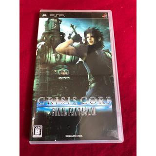 プレイステーションポータブル(PlayStation Portable)のPSP CRISIS CORE -FF Ⅶ-(携帯用ゲームソフト)