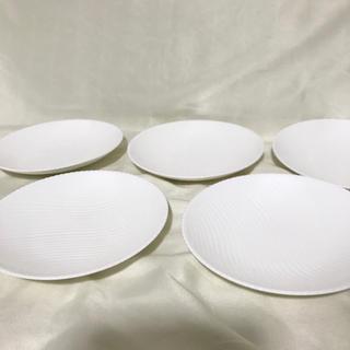 ニッコー(NIKKO)のニッコー  小皿 中皿 1700番 ホワイト プレート 取り皿 未使用品 5枚(食器)