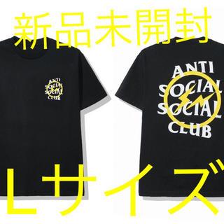 アンチ(ANTI)のFRAGMENT × ASSC TEE Yellow Bolt Tシャツ L(Tシャツ/カットソー(半袖/袖なし))