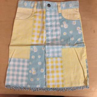 ローラアシュレイ(LAURA ASHLEY)の難あり ローラアシュレイ パッチ柄スカート サイズ6 レトロ(スカート)