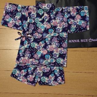 アナスイミニ(ANNA SUI mini)の最終お値下げ‼️アナスイミニ 甚平 110㎝(甚平/浴衣)