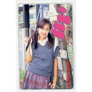 ショウガクカン(小学館)の矢田亜希子☆少年サンデー96 テレカ(アイドルグッズ)