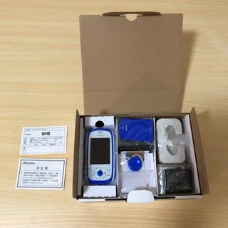 エヌティティドコモ(NTTdocomo)のdocomo HW-01D ブルー(携帯電話本体)