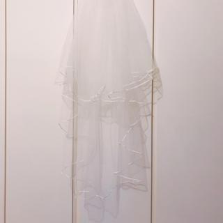 ウェディングベール ミドル丈(ウェディングドレス)