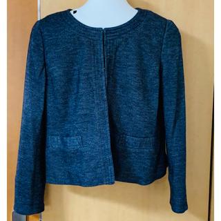 ジャケット&スカートセット 4L(ノーカラージャケット)