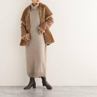 エストネーション(ESTNATION)のH BRAND エイチブランド mouton coat(ムートンコート)