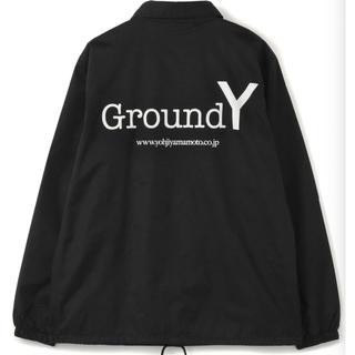 ヨウジヤマモト(Yohji Yamamoto)の『国内正規』YOHJIYAMAMOTO Geound Y コーチジャケット M(ナイロンジャケット)