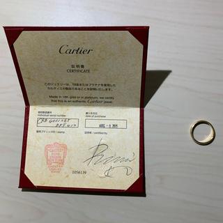 カルティエ(Cartier)のカルティエ Cartier 18K 結婚指輪 保証書付(リング(指輪))