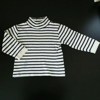 ムジルシリョウヒン(MUJI (無印良品))のMUJI ボーダーシャツ100♡(Tシャツ/カットソー)