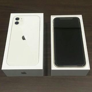 アイフォーン(iPhone)のiPhone 11 ホワイト 64GB docomo SIMフリー  新品(スマートフォン本体)