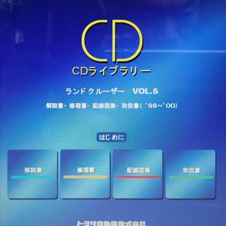 ランドクルーザー 40〜120系 オリジナルサービスマニュアル ランクル(カタログ/マニュアル)