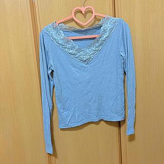 ヴィス(ViS)のトップス(Tシャツ(長袖/七分))