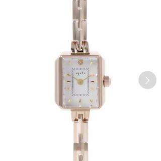 アガット(agete)の値下げ!送料込み定価7万!フェイスジュエリーウォッチAGETE15YG2(腕時計)