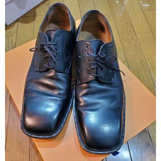 ルイヴィトン(LOUIS VUITTON)のLOUIS VUITTON ルイ・ヴィトン / 黒 革靴(ドレス/ビジネス)