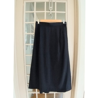 イッセイミヤケ(ISSEY MIYAKE)のISSEY MIYAKE // 黒のロングスカート(ロングスカート)
