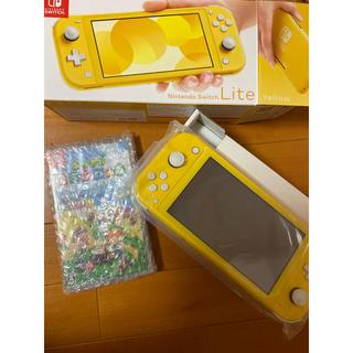 ニンテンドースイッチ(Nintendo Switch)のswitch lite イエロー あつ森(携帯用ゲーム機本体)