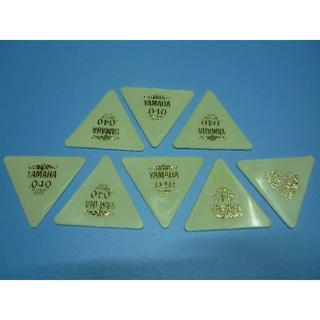YAMAHA 正三角形ピック 8枚セット  厚さ:040 (長期在庫品) 白(その他)