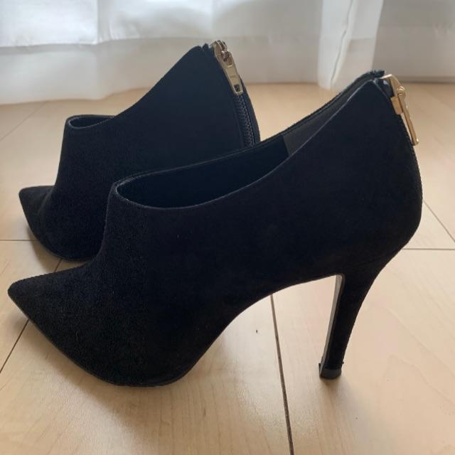 DIANA(ダイアナ)の【DIANA ダイアナ】スウェードブーティ レディースの靴/シューズ(ブーティ)の商品写真