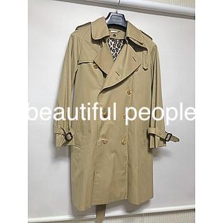 ビューティフルピープル(beautiful people)のbeautiful people ビューティフルピープル トレンチコート150(トレンチコート)
