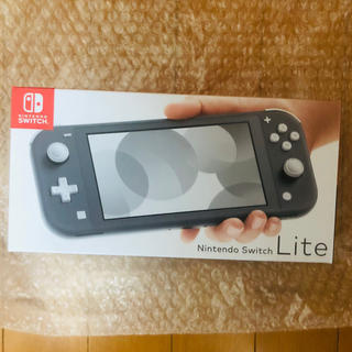 ニンテンドースイッチ(Nintendo Switch)のNintendo Switch Lite グレー (携帯用ゲーム機本体)