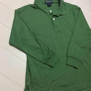 ランズエンド(LANDS'END)のランズエンド8〜9歳ポロシャツ(Tシャツ/カットソー)