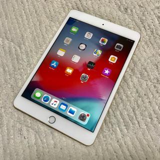 アイパッド(iPad)の【超美品】ipad mini3 ゴールド 64GB Wi-Fi+セルラー(タブレット)