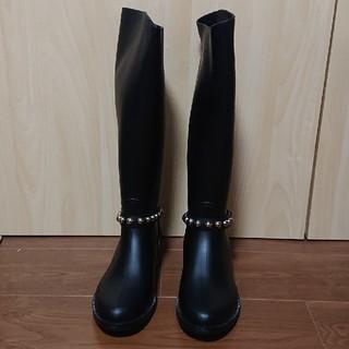 レッドヴァレンティノ(RED VALENTINO)の【ほぼ新品】RED VALENTINO☆レインブーツ(レインブーツ/長靴)
