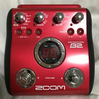 ズーム(Zoom)のZOOM B2 ベース マルチエフェクター(ベースエフェクター)