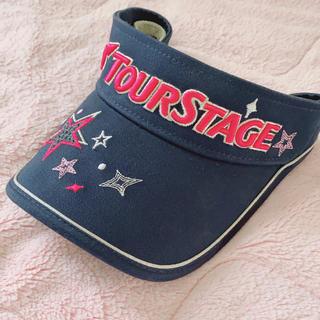ツアーステージ(TOURSTAGE)のツアーステージ レディスバイザー(ウエア)