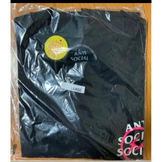 アンチ(ANTI)のFragment x Assc Pink Bolt Tee サイズL(Tシャツ/カットソー(半袖/袖なし))