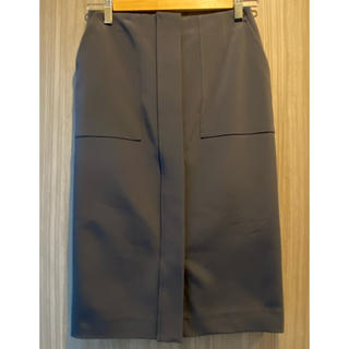 デミルクスビームス(Demi-Luxe BEAMS)のDemi-Luxe BEAMS / フロントあき タイトスカート(ひざ丈スカート)