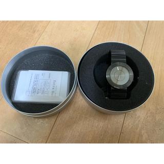 イッセイミヤケ(ISSEY MIYAKE)のissey miyake 吉岡徳仁 コラボ時計(腕時計(アナログ))