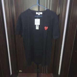 コムデギャルソン(COMME des GARCONS)の新品未使用Play comme des Garcons Tシャツ男女兼用(Tシャツ/カットソー(半袖/袖なし))