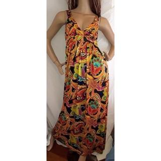 アナップラティーナ(ANAP Latina)のANAP LATINA ペイズリー ロング マキシ ワンピース ドレス(ロングワンピース/マキシワンピース)
