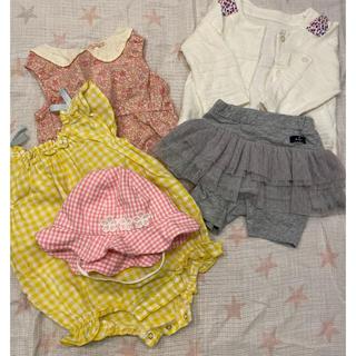 エフオーファクトリー(F.O.Factory)のsa❤︎様専用!apres les coursベビー服セット☆70cm(ロンパース)