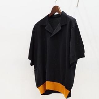 サンシー(SUNSEA)のSunsea Swithing Knit POLO (ポロシャツ)
