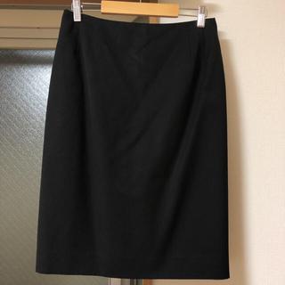 オリヒカ(ORIHICA)のORIHICA ウォッシャブル&ハルヤマ SOFFICE黒 スーツスカート(スーツ)