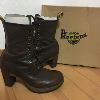 ドクターマーチン(Dr.Martens)のドクターマーチン DARCIE DIVA UK5 ダークブラウン(ブーツ)