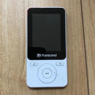 トランセンド(Transcend)の【中古品】オーディオプレイヤー transcend 8GB MP710 本体(ポータブルプレーヤー)