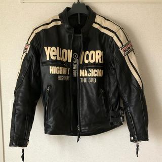 イエローコーン(YeLLOW CORN)のYeLLOW CORN ジャケット(ライダースジャケット)