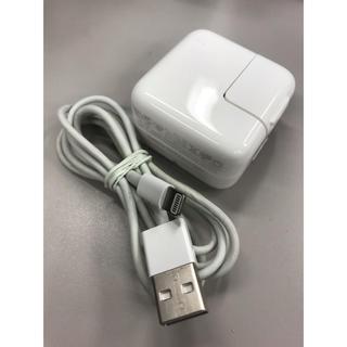 アイフォーン(iPhone)のアップル純正iPad・iPhone10w電源アダプタ+おまけUSBコード(PC周辺機器)