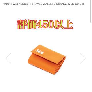 シュプリーム(Supreme)のwds トラベルウォレット オレンジ(折り財布)