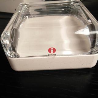 イッタラ(iittala)のイッタラ VITRIINI box 108mm 小物入れ white(小物入れ)