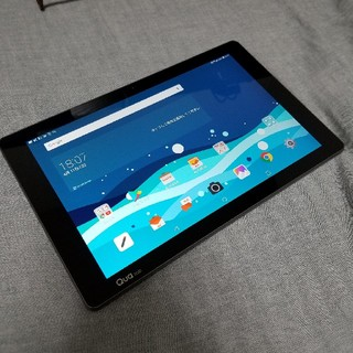 エルジーエレクトロニクス(LG Electronics)のau Qua tab PZ 10インチ Android7.0 フルセグ対応(タブレット)