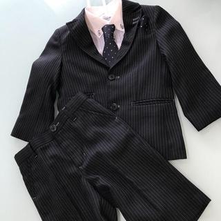 エニィファム(anyFAM)の美品 男の子 フォーマル スーツ 110  anyFAM(ドレス/フォーマル)