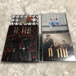 トウホウシンキ(東方神起)の東方神起 LIVE TOUR 2015 WITH Blu-ray グッズ CD(K-POP/アジア)