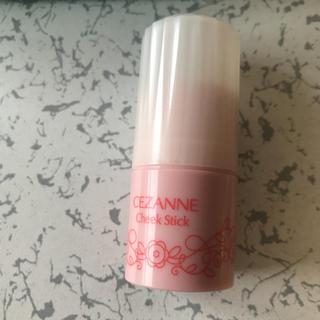 セザンヌケショウヒン(CEZANNE(セザンヌ化粧品))のセザンヌ スティックチーク02 コーラル(チーク)